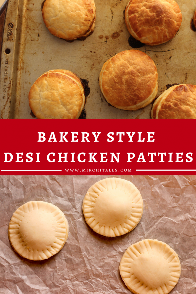 This simple recipe will take you back to the Desi chicken patties you used to get from the corner Pakistani bakery. Crisp & flaky puff golden pastry filled with shredded chicken in a creamy white sauce.