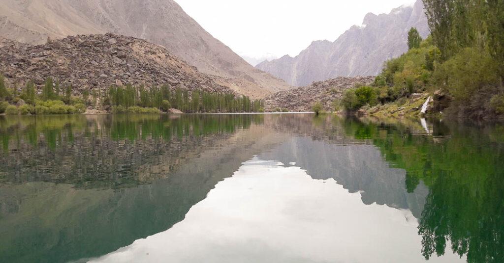 Upper Kachura Lake near Shigar Fort