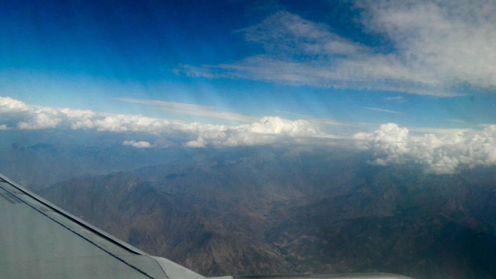 Plane Ride from Islamabad to Skardu
