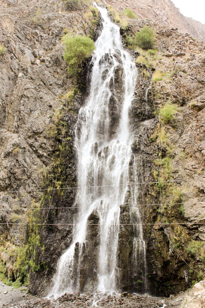 Manthoka Waterfall on the road from Khaplu Palace to Shigar Fort