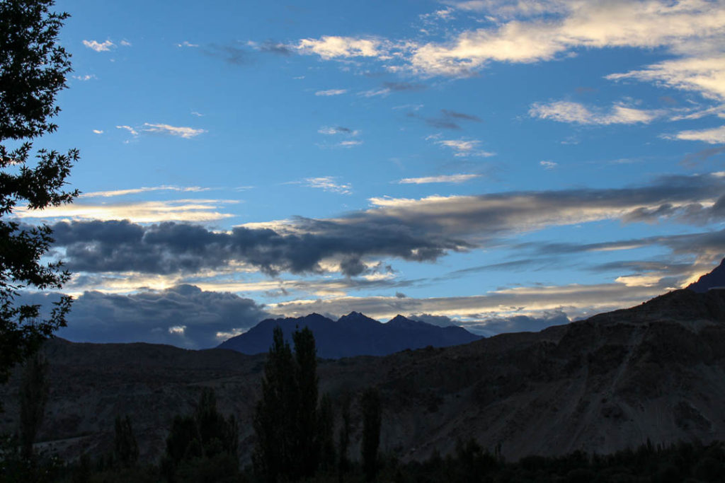 Signing off with another view of Khaplu in Gilgit Baltistan