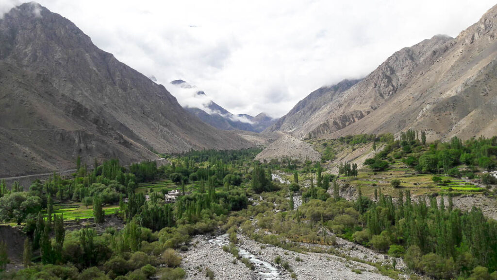 A view of Satpara Village