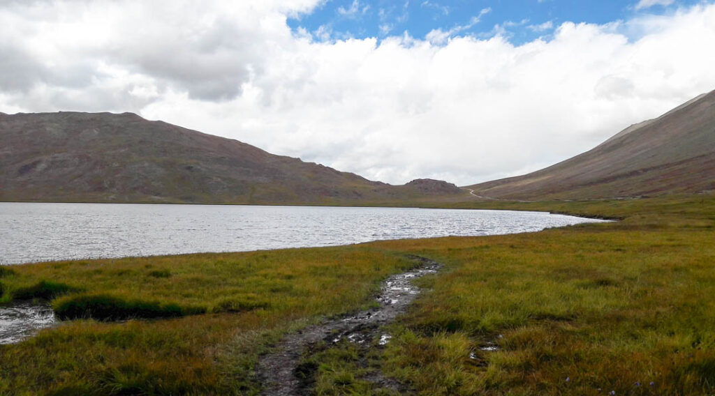 Sheosar Lake at Deosai Plains in Skardu