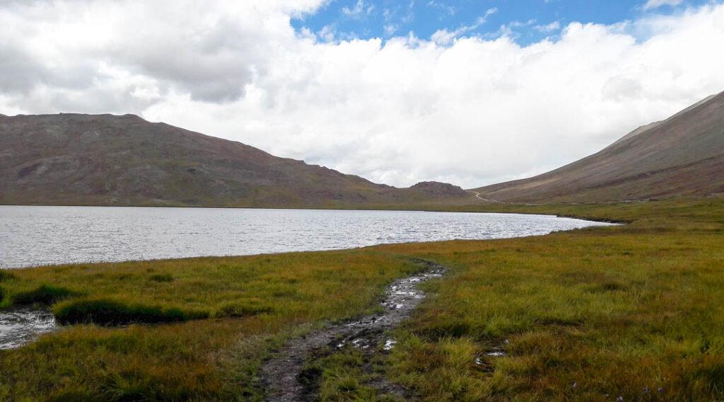Sheosar Lake at Deosai Plains in Skardu