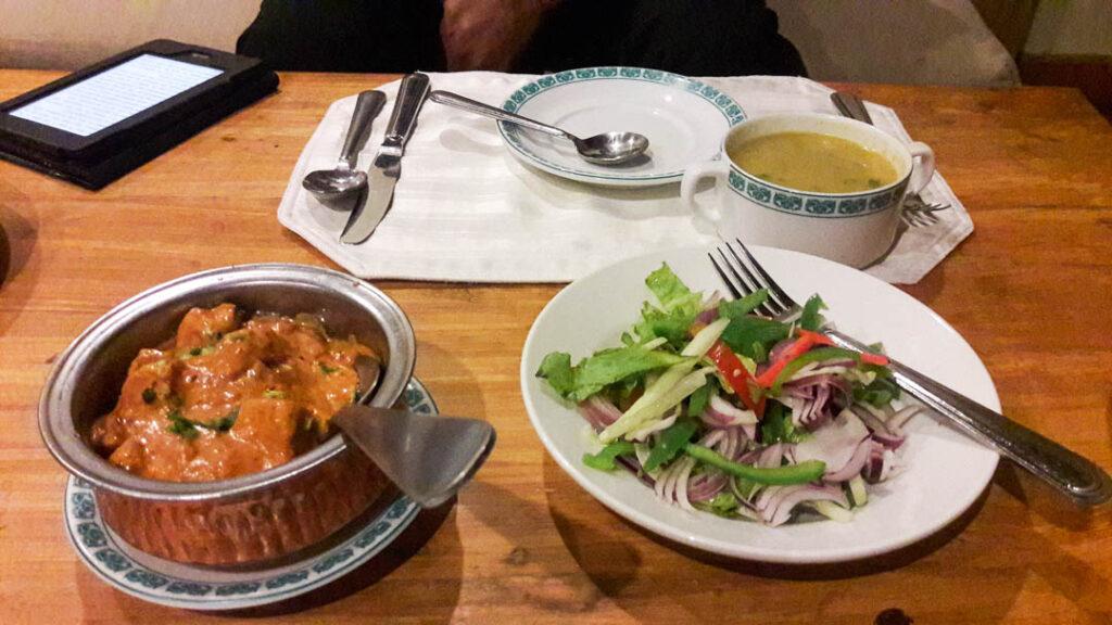 Dinner at Shigar Fort
