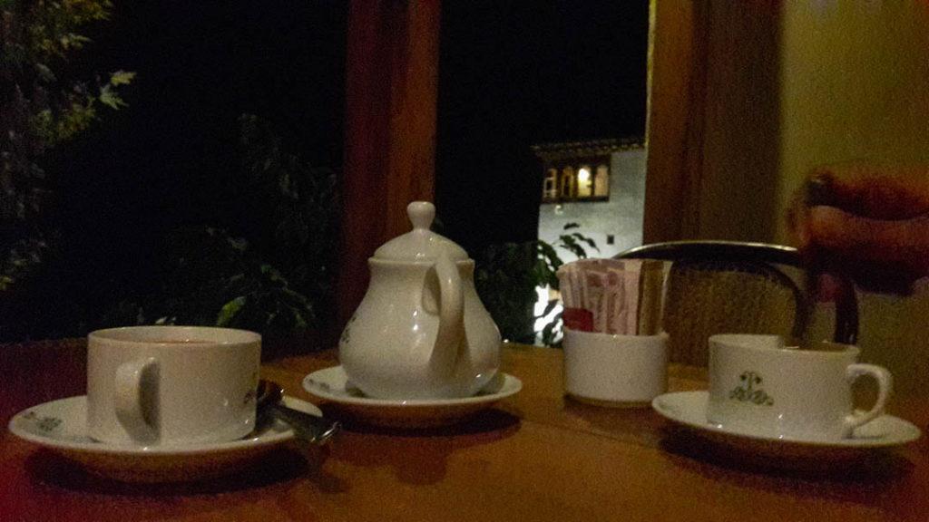 Enjoying a cup of proper doodh patti chai in the evening. No tea-bags here!