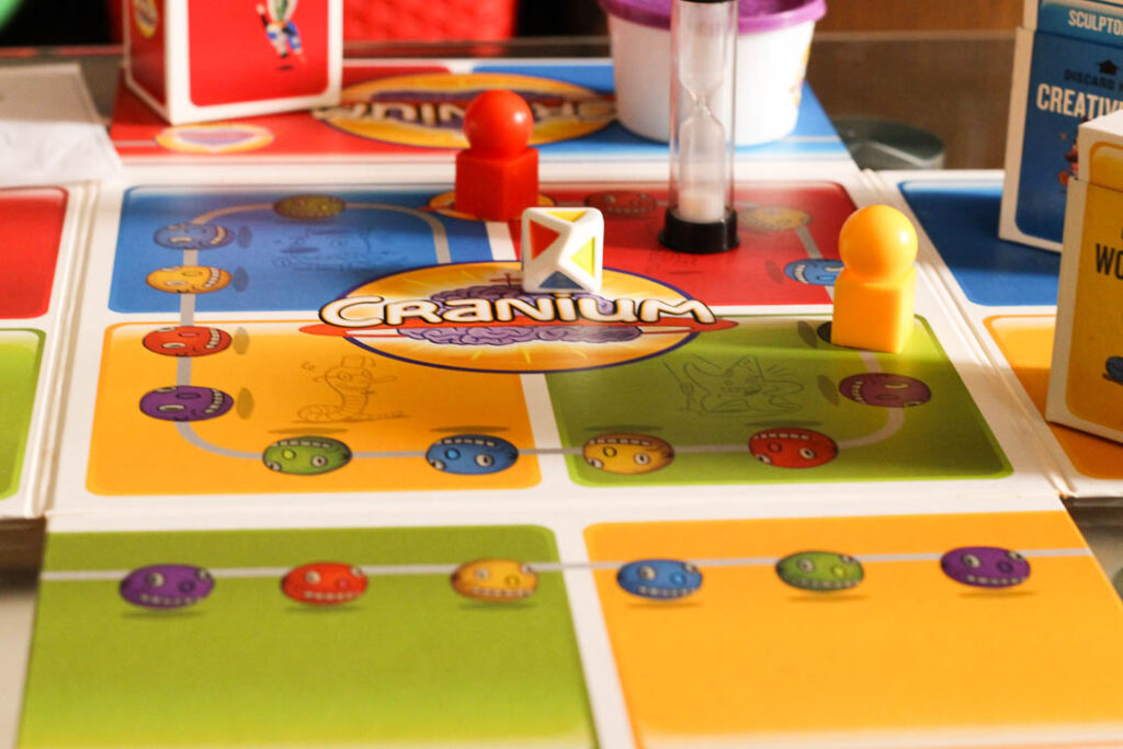 Invite friends and family over to have some game night fun. Options for board games include Sequence, Pictionary, Taboo, Cranium and more.