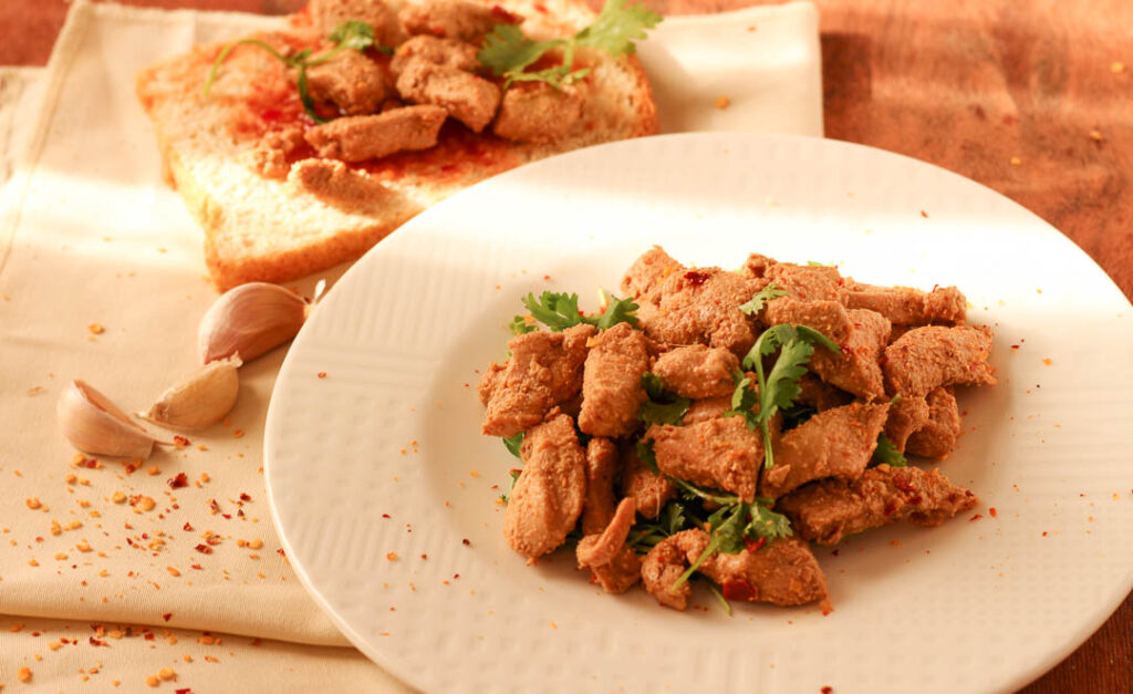 The ultimate pan seared chicken recipe is made from boneless meat marinated in Asian and Pakistani spices. Eat the chicken on its own, or use it in sandwiches, salads, pasta and more.