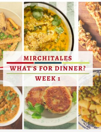 Deciding what to make for dinner can be exhausting. Here's a Pakistani weekly menu plan that will help you decide 'what's for dinner' or as we say locally 'aaj kia pakayein'