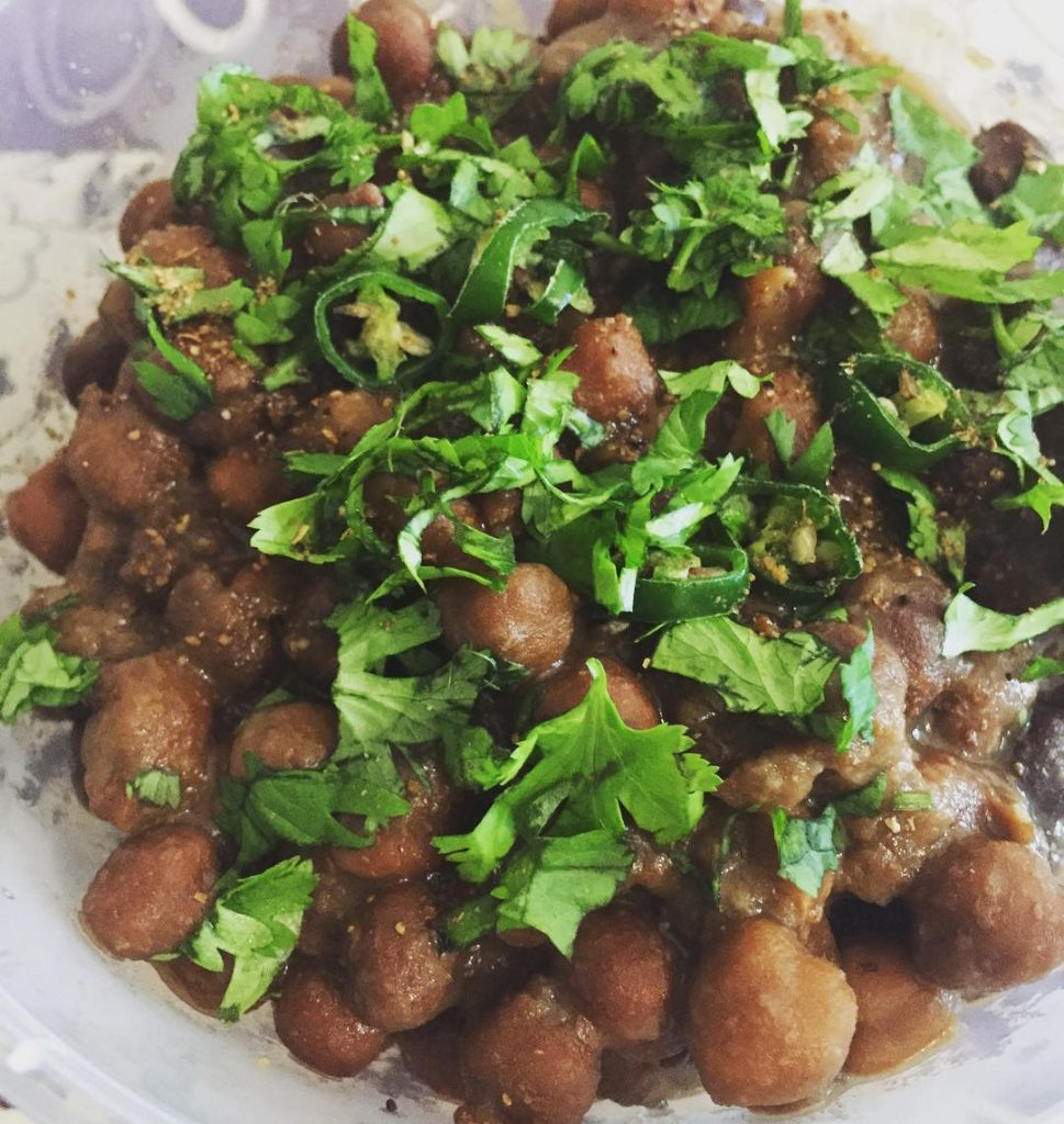 A collection of 19 make ahead recipes for Ramadan to save you time in the kitchen and help you prepare iftar, sehri and dinner as stress free as possible.  Featured here is a recipe of Black Tyson Chaat by Afsheen Ovais.