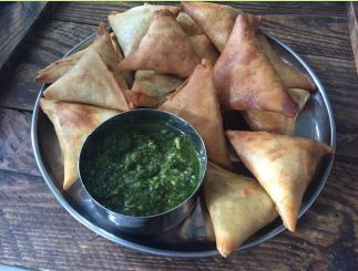 A collection of 19 make ahead recipes for Ramadan to save you time in the kitchen and help you prepare iftar, sehri and dinner as stress free as possible.  Featured here is a recipe of Vegetable Samosa by RecreatingRecipes.