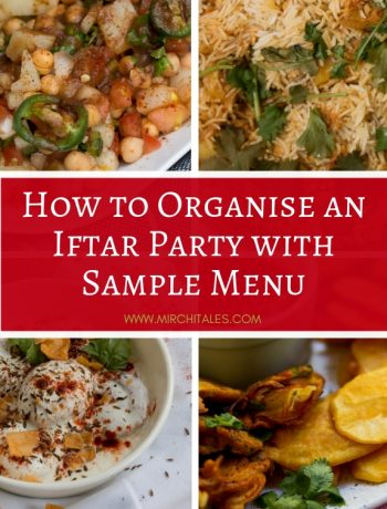 Hosting an Iftar party can be quite challenging. Here are tips on how to organise an Iftar party with as less stress as possible along with sample menus for Iftar & Dinner.