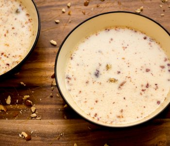 Sheer khurma is a popular Eid dessert in Pakistan as well as other Muslim other countries. It is made with vermicelli cooked in milk with dates, dry fruits and cardamom adding flavour and aroma to the dish.