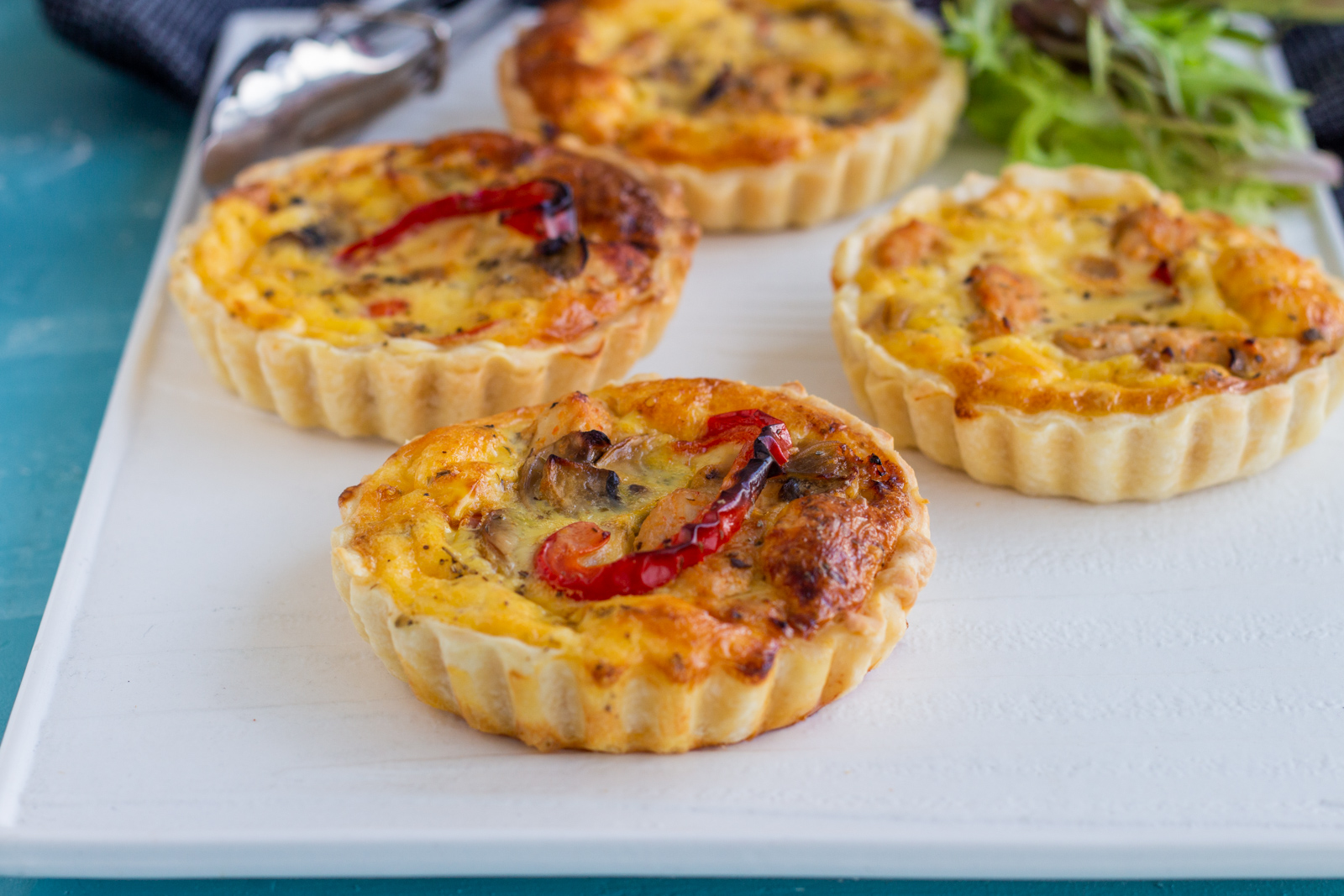 Chicken And Mushroom Mini Quiches Mini Quiche Recipe